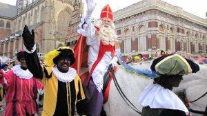 Sinterklaas arriving in Haarlem