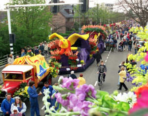 April in Haarlem - the spring flower parade is blooming marvellous