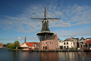 Haarlem's famous windmill