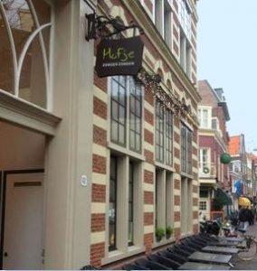 The delightful Hofje Zonder Zorgen in Haarlem's Grote Houtstraat