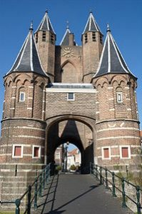 Amsterdamse Poort – the ancient gate to Amsterdam from Haarlem