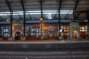 Haarlem's Art Nouveau train station (from 1908) still charms travellers today