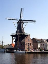 Windmill Haarlem - North Holland, the Netherlands