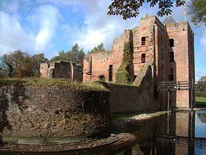 Brederode Castle Ruins in Santpoort near Haarlem