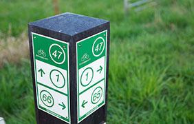 Fietsroutenetwerk sign