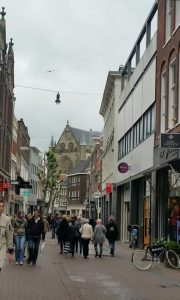 One of Haarlem's oldest shopping streets, the Grote Houtstraat