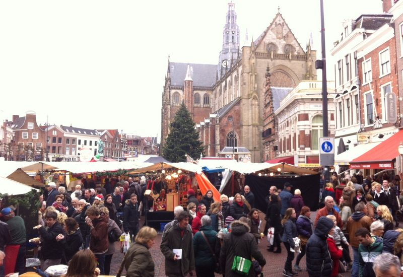 Visit Haarlem's Christmas Market on the Grote Markt