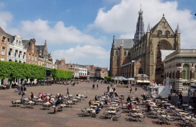 Haarlem's Grote Markt is a great place to watch the world go by.